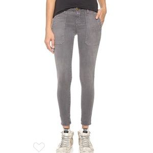 Current/Elliott The Conductor Gray Skinny Jeans